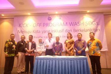 Pemkot Bandar Lampung Dan Metro Tandatangani Persetujuan Program WASH SDGs