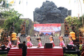 Wakil Bupati Lamtim Hadiri Acara Temu Karya Nasional Di Bali