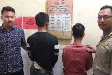 Dua Pelajar Pelaku Jambret Di Tangkap Satreskrim Polres Tanggamus