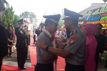Pisah Sambut Kapolres Lampung Utara