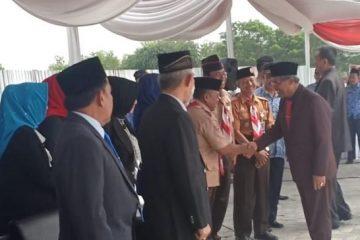 Bupati Lampung Tengah Pimpin Upacara Hari Sumpah Pemuda
