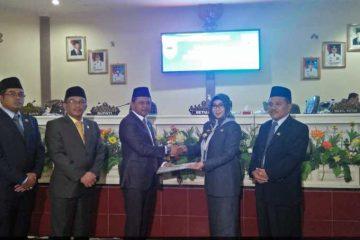 DPRD Tanggamus Gelar Paripurna PAW Dua Anggota Dewan PKB Dan PDIP