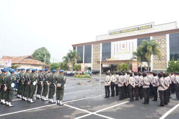 Polda Lampung Gelar Apel Pasukan Operasi Zebra, Ini Pesan Kapolda