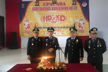 Lapas Kelas IIA Kotabumi Peringati Hari Dharma Karyadhika Ke-73 Kemenkumham