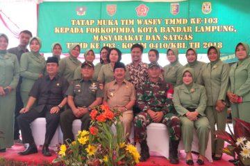 Tim WASEV TNI-AD Tinjau Sumber Agung