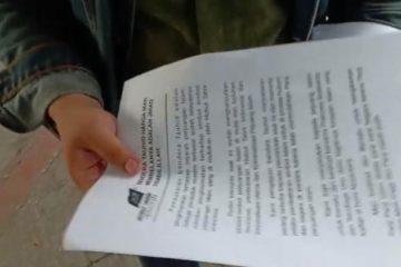 Di Temukan Pamflet HTI, Ajakan Dukung Prabowo Sandi HTI Jelang Aksi 211