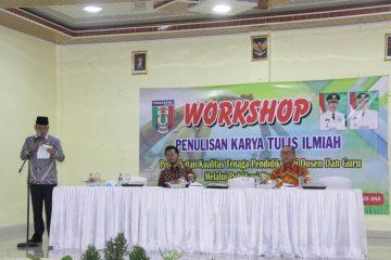 Dosen Dan Guru Di Pringsewu Ikuti Workshop