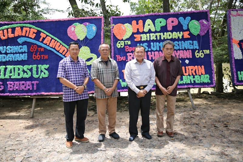 Wagub Lampung Bachtiar Basri Temui Mantan Pejabat dan Pionir Lampung Barat