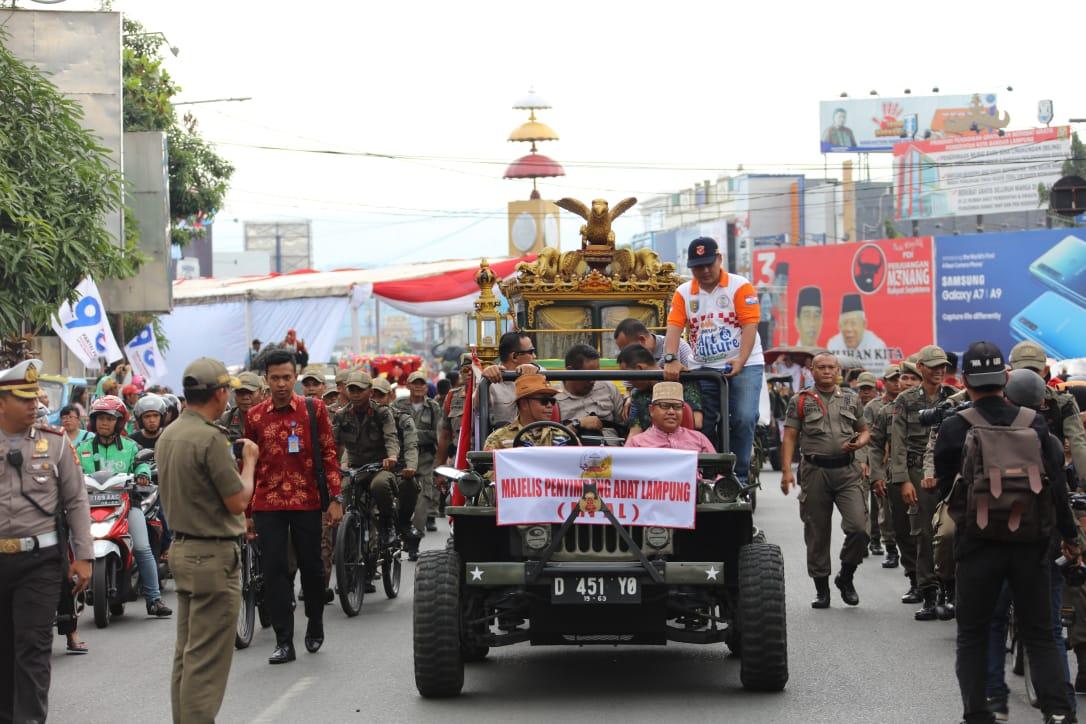 Lestarikan Budaya, Gubernur Ridho Ajak Lampung Sai Gelar Parade