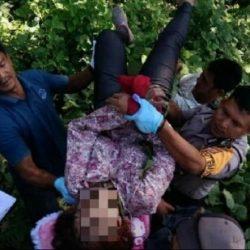 Mayat Perempuan di Pesisir Barat Diduga Ibu Anggota Polres Oku Timur