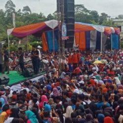 Ribuan Masyarakat Antusias Ikuti Millenial Road Safety Festival Polres Mesuji