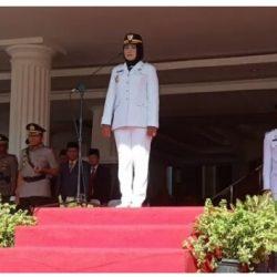 Pemkab Tulangbawang Gelar Upacara Peringatan HUT Kabupaten ke 22 Tahun