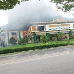 Kantor Bupati Pringsewu Kebakaran
