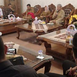 Bupati Loekman Audensi dengan Forum Mulei Meghanai Lampung Tengah