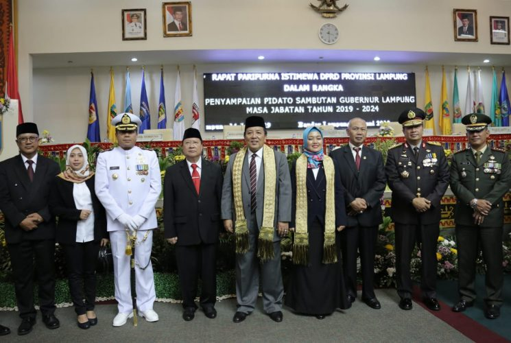 DPRD Lampung Gelar Paripurna Istimewa Sambutan Gubernur Arinal Djunaidi