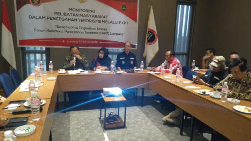 Kesbangpol Provinsi Lampung Apresiasi Kinerja FKPT, Siap Dukung Anggaran