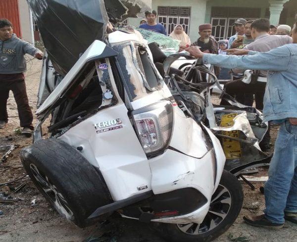 ASN Mesuji Tewas di Lampung Utara Usai Terlibat Kecelakaan Beruntun
