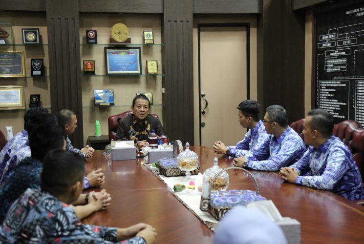 Gubernur Arinal Tantang Pengusaha Muda Bangkitkan Perekonomian Daerah