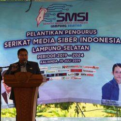 Ketua SMSI Lampung Minta Pengurus Daerah Jalin Sinergitas dan Kerjasama