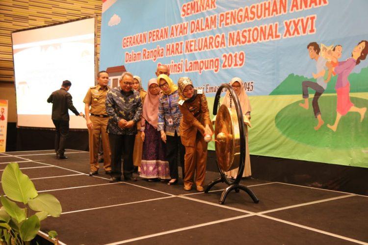 Lampung Ditargetkan di Tahun 2020 Menjadi Provinsi Layak Anak