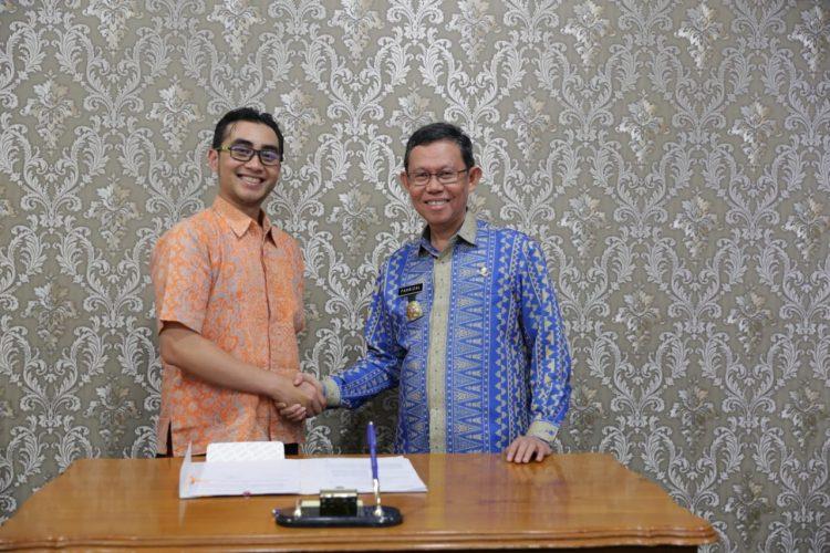 Targetkan Jutaan Wisatawan di 2019, Lampung dan Grab Teken MoU
