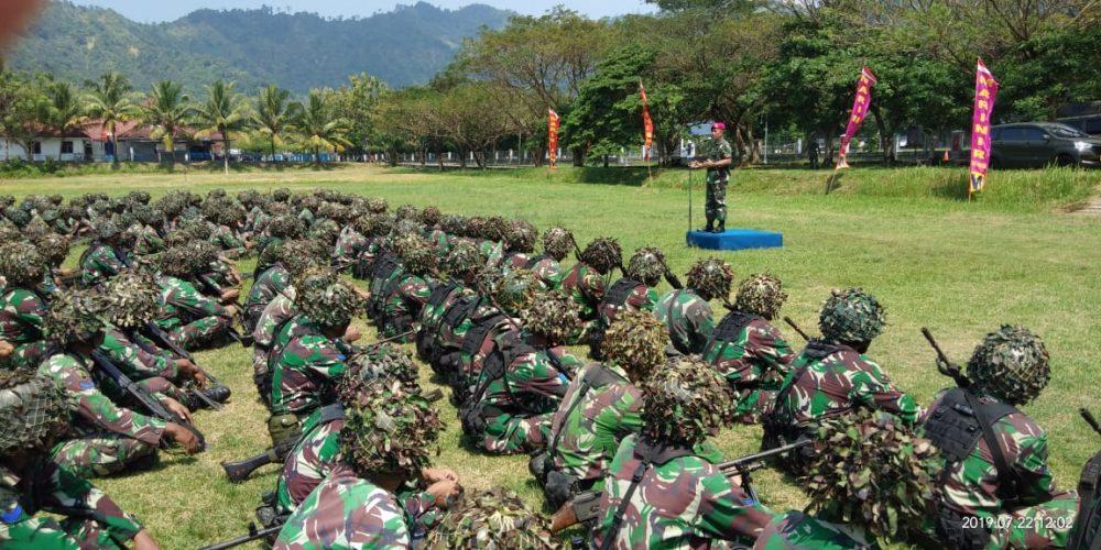 700 Prajurit Petarung Harimau Sumatera Brigif 4 Marinir/BS Selesai Melaksanakan Latihan Satuan Lanjutan