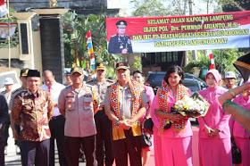 Kapolda Lampung Kunker ke Mapolres Lampung Barat