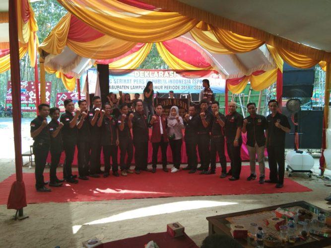 Serikat Pers Republik Indonesia DPC Lampung Timur Gelar Deklarasi Masa Bakti 2019-2024