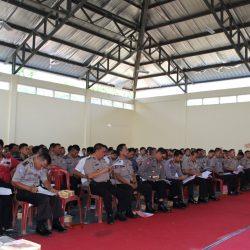 Bidang Hukum Polda Lampung Berikan Penyuluhan di Polres Way Kanan