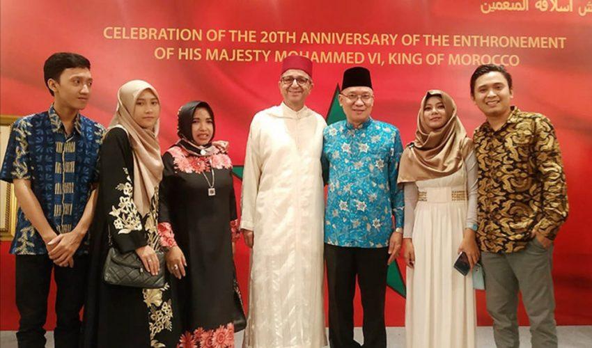 Ketua Umum PPWI Hadiri Undangan Kedutaan Besar Maroko