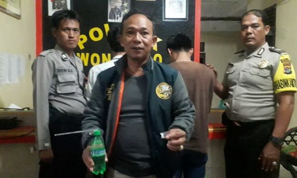 Oknum Honorer dan Kepala Pekon di Tanggamus Ditangkap Polisi Usai Nyabu