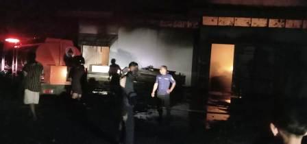 PT Sang Hyang Sri Lampung Timur Terbakar