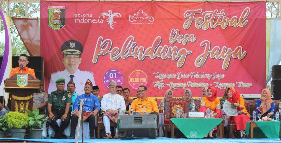 HUT Desa Pelindung Jaya ke-33 Berlangsung Meriah