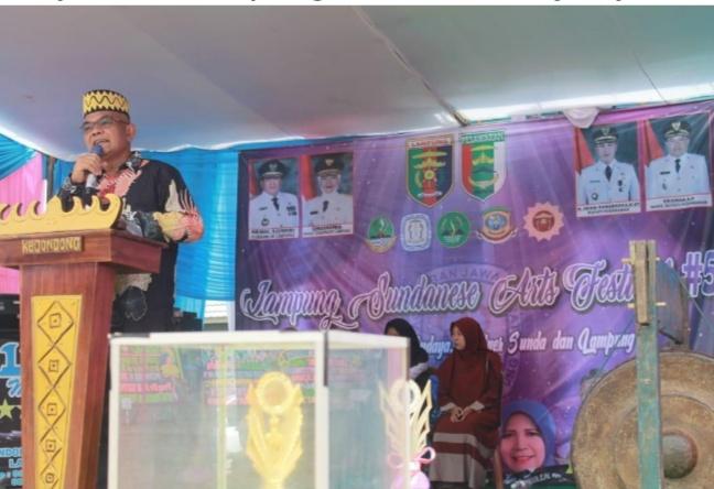 Pesawaran Tuan Rumah Lampung Sundanese Art Pestival ke-5