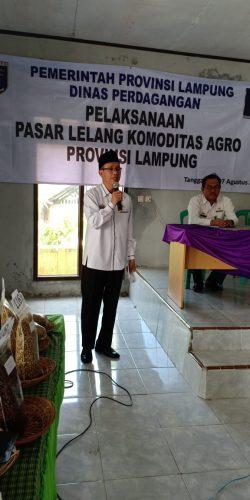 Dinas Perdagangan Provinsi Lampung Gelar Pasar Lelang Komoditas Agro