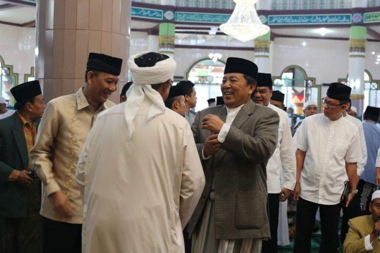 Gubernur Lampung Salat Idul Adha di Masjid Istiqlal Bandarjaya