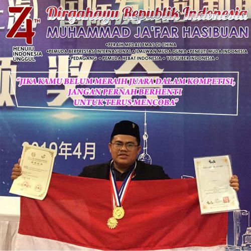 Viral, Muhammad Ja'far Hasibuan Juara Dunia Gegerkan 193 Negara Minta di Fasilitasi Istana Presiden RI