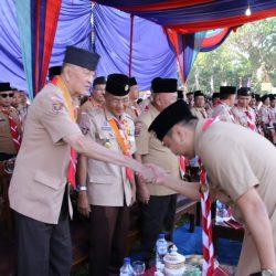 Bupati Lampung Utara Jadi Pembina Upacara Hari Pramuka