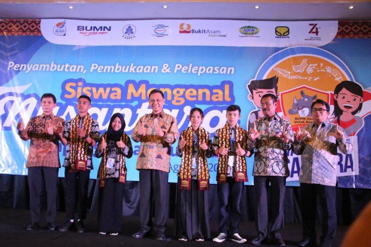 Lampung Lepas 23 Pelajar Ikuti Program SMN di Provinsi Maluku Utara