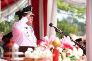Gubernur Arinal Pimpin Upacara Detik-detik Proklamasi 17 Agustus 2019
