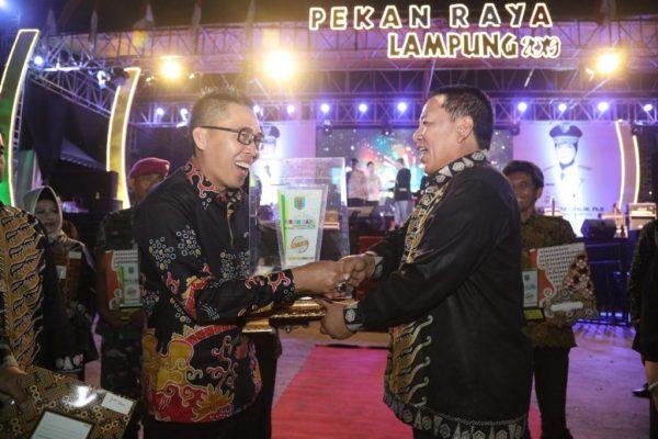 Gubernur Tutup Pekan Raya Lampung 2019, Lampung Timur Sabet Juara Umum