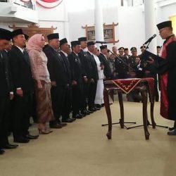 40 Anggota DPRD Way Kanan Masa Bakti 2019-2024 Dilantik