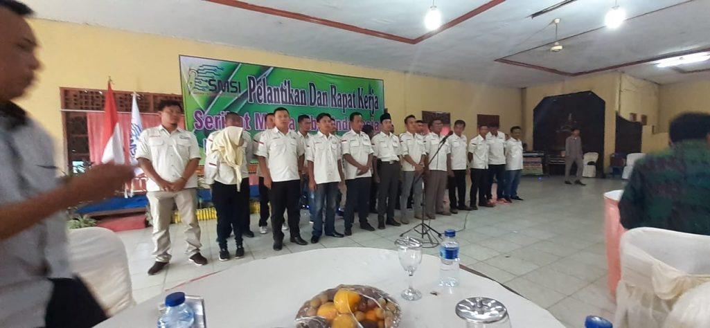 SMSI Lampung Utara Resmi Dilantik