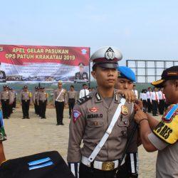 Operasi Patuh Krakatau Dimulai, Polres Pesawaran Gelar Apel Pasukan