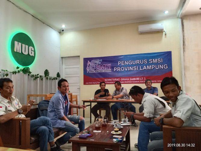 SMSI Lampung Gelar Rapat Koordinasi Organisasi