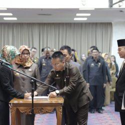 140 Pejabat Pemprov Lampung Dilantik