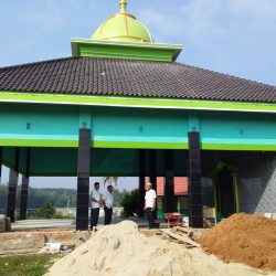 Akhirnya SMPN 2 Pekalongan Mampu Membangun Masjid Megah Hasil Sadaqah