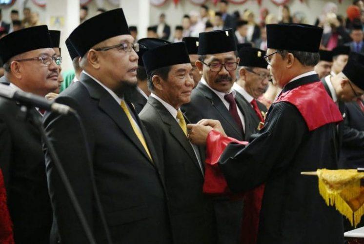 Anggota DPRD Provinsi Lampung Periode 2019-2024 Dilantik