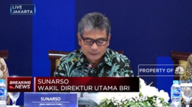 Sunarso Resmi Jadi Direktur Utama Bank BRI