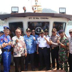Bupati Pesawaran Hadiri Peresmian Pengoperasian Banawa Nusantara